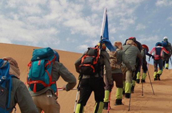 团建活动:库布齐沙漠徒步体验