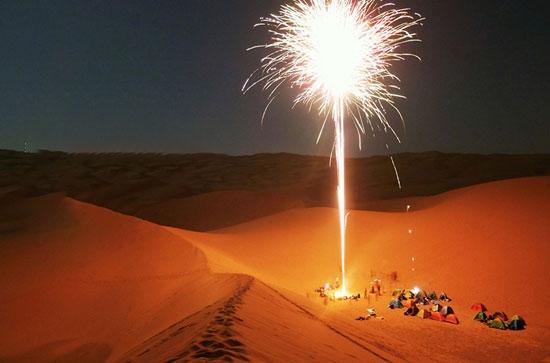 团建项目:腾格里沙漠
